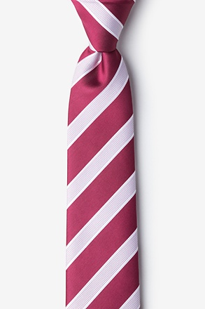 _Jefferson Stripe Skinny Tie_