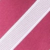 Maroon Microfiber Jefferson Stripe Tie For Boys