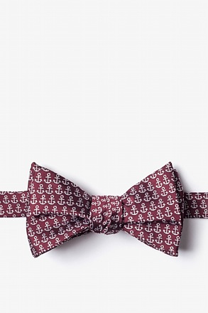 Small Anchors Butterfly Bow Tie