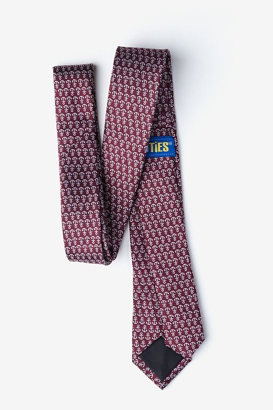 Small Anchors Skinny Tie Photo (1)