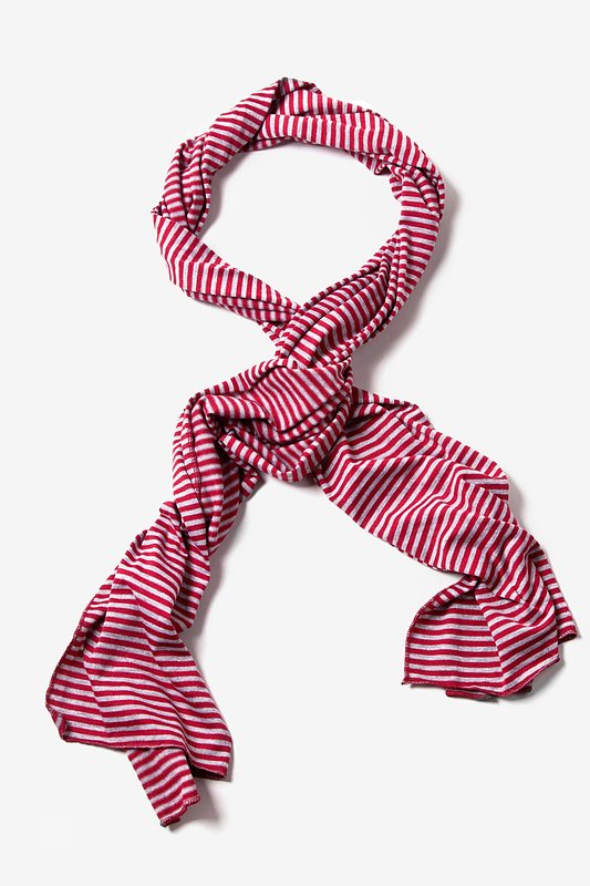 Mens Candy Stripe Scarf