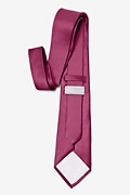 Maroon Extra Long Tie Photo (2)