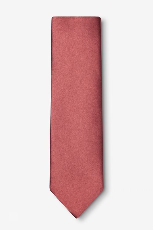Marsala Extra Long Tie Photo (1)