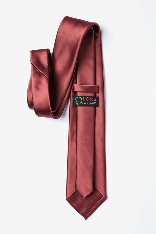Marsala Extra Long Tie Photo (2)