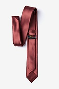 Marsala Skinny Tie Photo (2)