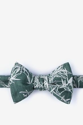 Ace Mineral Blue Self-Tie Bow Tie
