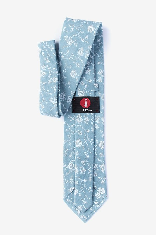 Bexley Mineral Blue Extra Long Tie Photo (1)