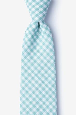Clayton Mineral Blue Extra Long Tie