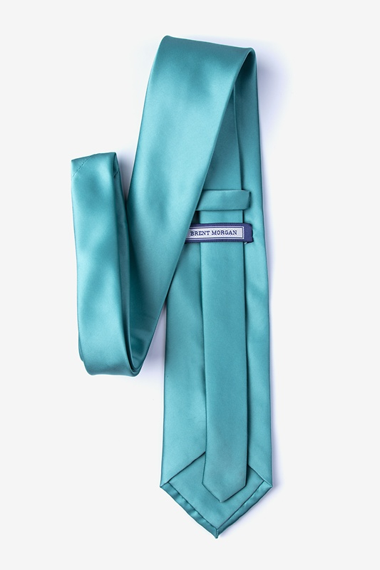 Mineral Blue Extra Long Tie Photo (1)