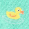 Mint Green Carded Cotton Feelin' Ducky