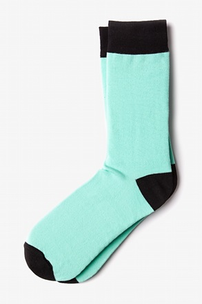 Mint Green Irvine Sock