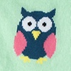 Mint Green Carded Cotton Owl Night Long