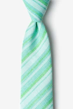 Katy Mint Green Extra Long Tie