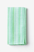 Mint Green Cotton Katy Pocket Square