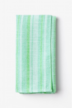 Katy Mint Green Pocket Square