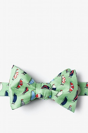 _Seas the Day Mint Green Self-Tie Bow Tie_