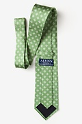 Fleur Crazy Moss Extra Long Tie Photo (2)