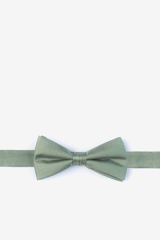 Moss Bow Tie For Boys Photo (0)