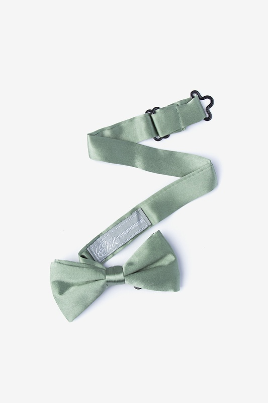Moss Bow Tie For Boys