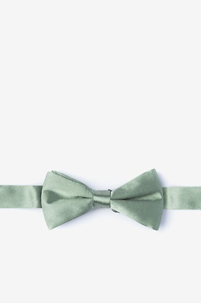 _Moss Bow Tie For Boys_