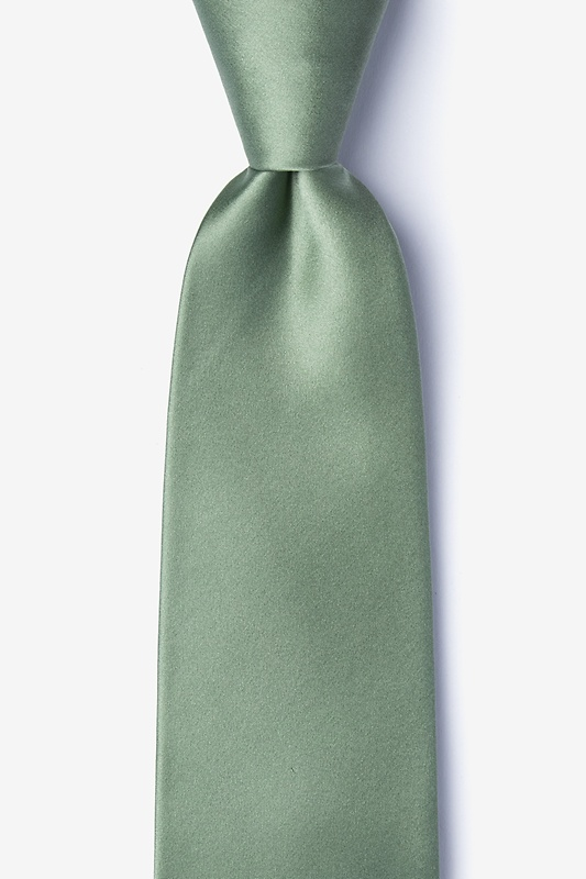 Moss Extra Long Tie Photo (0)
