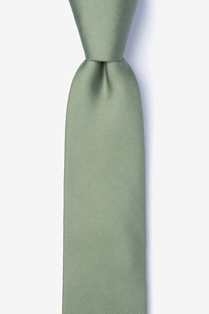 _Moss Tie For Boys_
