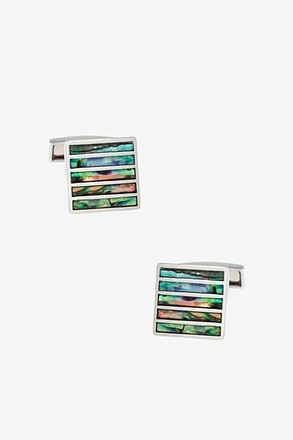 Illusionary Stripe Cufflinks