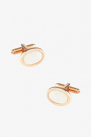 Oval Understated Cufflinks
