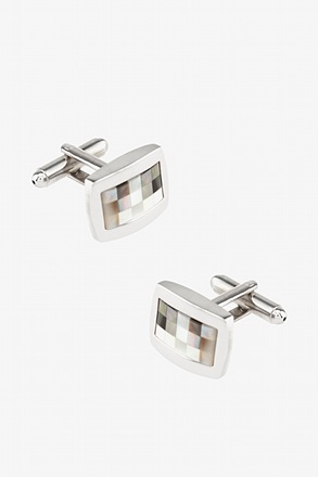 _Wilshire Mother Of Pearl Cufflinks_
