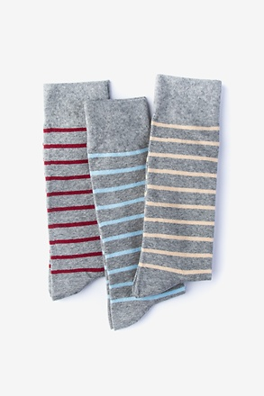 _A Different Stripe 3 Sock Pack_