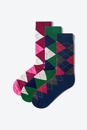 Argyle Multicolor Sock Pack