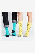 Bee Yourself Multicolor His & Hers Socks Photo (1)