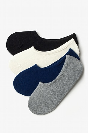 Classic No-Show 4 Sock Pack