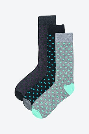 Dot Dot Dot 3 Multicolor Sock Pack