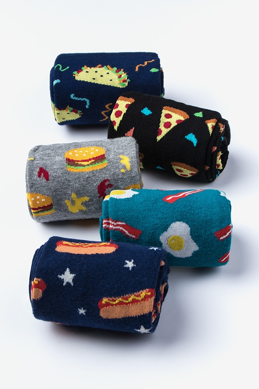 Fast Food 5 Sock Pack Photo (3)