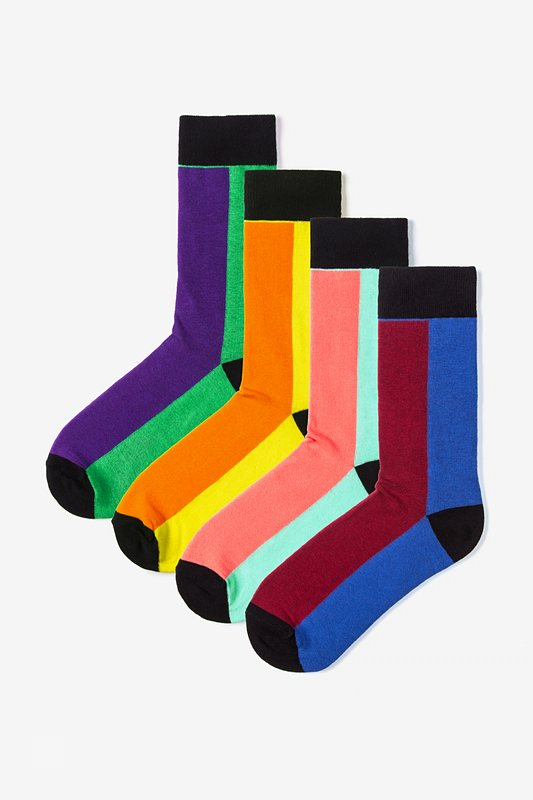 Fullerton 4 Multicolor Sock Pack Photo (0)