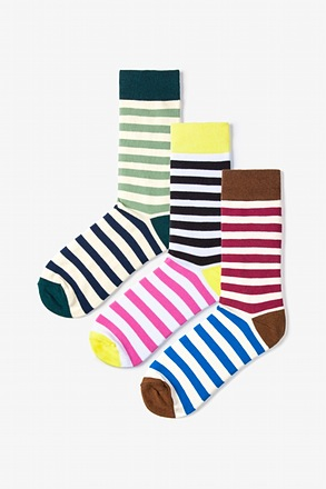 Lakewood 3 Multicolor Sock Pack