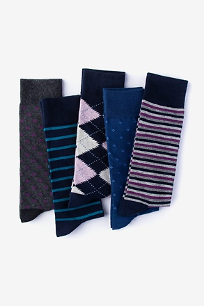 Like a Boss 5 Multicolor Sock Pack
