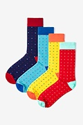Long Beach 4 Multicolor Sock Pack Photo (0)
