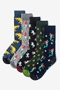 Mythical Creatures Multicolor Sock Pack Photo (0)