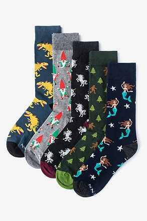 Mythical Creatures Multicolor Sock Pack