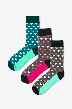 _Newport 3 Multicolor Sock Pack_