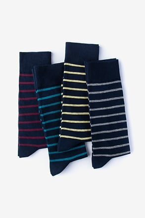 _Stripe Hype 4 Multicolor Sock Pack_