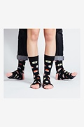 Sushi Multicolor His & Hers Socks Photo (1)