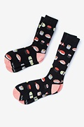 Multicolor Carded Cotton Sushi His & Hers Socks