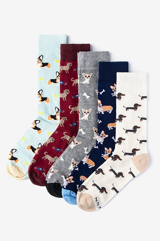 Ultimate Dog Lover Multicolor Sock Pack Photo (0)