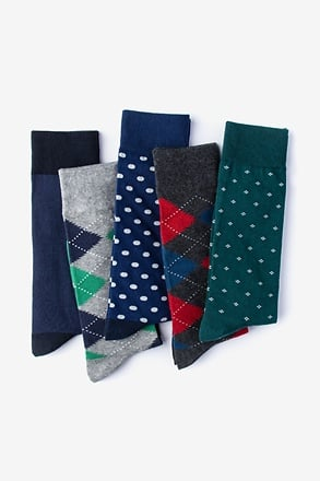 _Weekday Warrior 5 Multicolor Sock Pack_