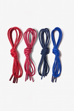Americana 4 Pack Waxed Shoelaces