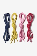 Nautical 4 Pack Waxed Shoelaces