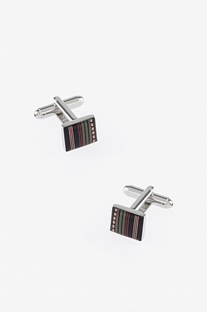 Abstract Pattern Square Cufflinks